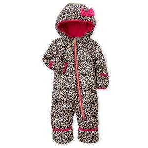 Michael Kors: Leopard Print Baby Snow Suit